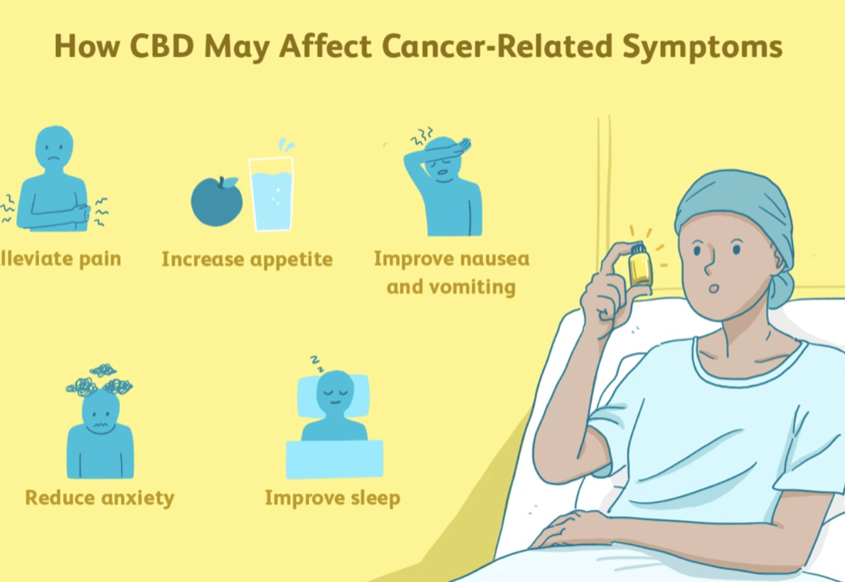 Cancer afectiuni ce trateaza CBD-ul